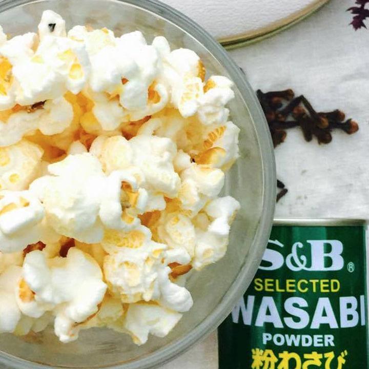 Absurdly Wasabi Popcorn